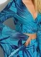 Morhipo Beach Bağlama Detaylı Bluz Mavi
